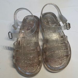 {CARTERS} clear sandals